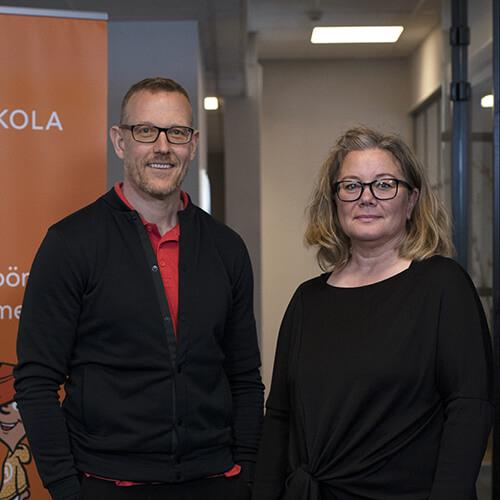 Erik Hellmén & Martina Söderholm